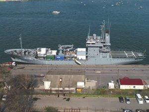 'FGS Werra' isimli askeri gemi, Sarayburnu'na demirledi