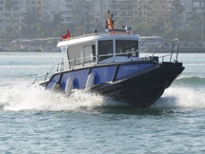 Deniz araçlarının Akdeniz'i kirletmesi önleniyor