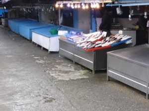Karadeniz'de balık tezgahları boş kaldı