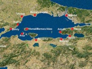 Marmara'daki yer hareketliliğine yakın takip