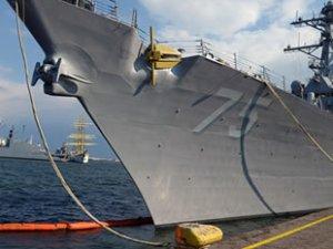 'USS Donald Cook' destroyeri, Odessa Limanı'na demirledi