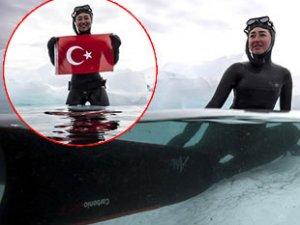 Şahika Ercümen, Antarktika'da 'Özel' dalış yaptı