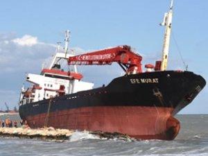 'Efe Murat' isimli gemiyi kurtarma çalışmaları başladı