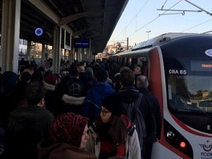 Marmaray'da Test Bittiği Gün Arıza Yaşandı