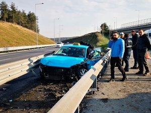 TEM'de turistlere kaza şoku