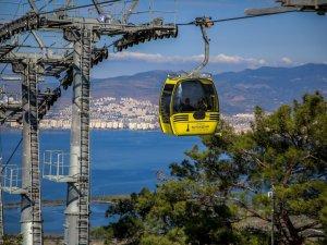 İzmir'de Teleferik Toplu Taşımada Kullanılacak!