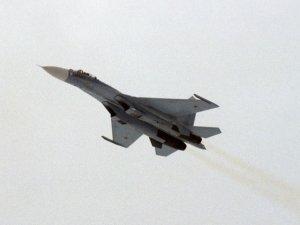Rusya sınırlarına yaklaşan ABD uçağına, Su-27 müdahale etti