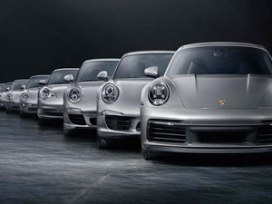 Porsche'nin son model 37  aracı sulara gömüldü
