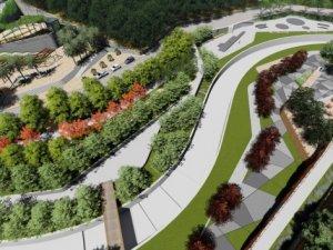 Serindere Vadi Park Kavşağı yapımına başlandı