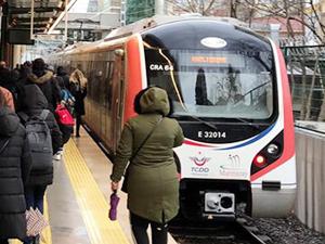 Gebze-Halkalı banliyösü bir haftada 3,3 milyon yolcu taşıdı