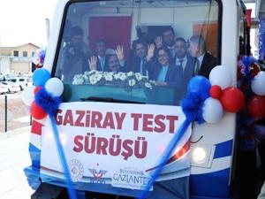 Gaziray'da test sürüşleri başladı