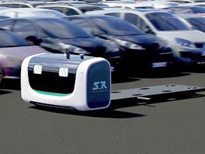 Havalimanı otoparkı robot valelere emanet