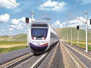 Demiryolu altyapısının yüzde 45'i elektrikli ve sinyalli