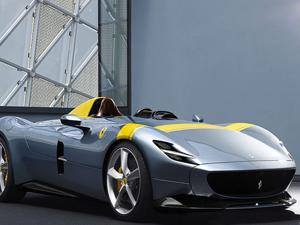 Ferrari Monza SP1, altın ödüle layık görüldü