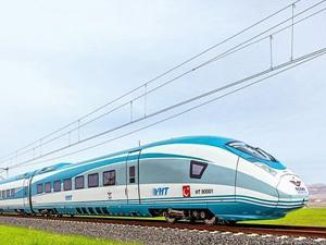Ankara-Sivas YHT hattında kullanılacak tren setleri Kasım'da Türkiye'de