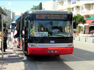 Antalya'da ücretsiz ulaşım dönemi başladı