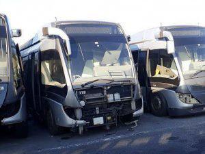 Hollanda'dan alınan metrobüsler hurdaya döndü