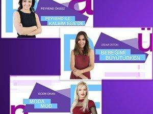 Woman TV'de üç yeni program!
