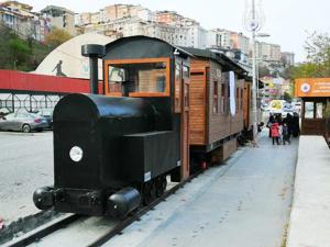 Tarihi Kağıthane demiryolu hattı hayat buluyor
