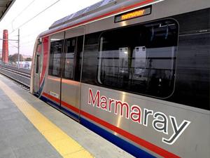 Marmaray'dan 800 milyon TL gelir elde edildi