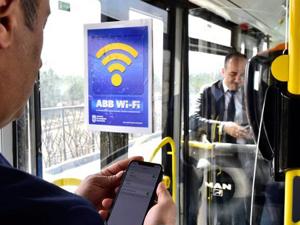 EGO Otobüslerinde Ücretsiz İnternet