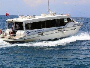 Antalya'da Deniz Otobüsleri Yaz Tarifesine Geçiyor