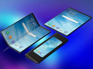 Samsung Galaxy Fold katlanırken görüntülendi
