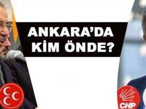 Ankara'da kim önde?