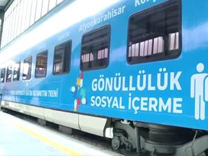 'Sosyal Kooperatif Treni' ikinci seferine hazır