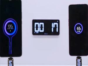 Xiaomi şarj süresinde rekor kırdı! 17 saniye...
