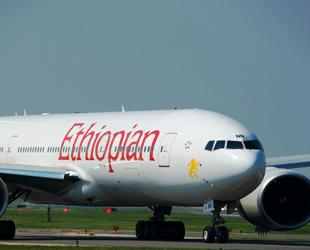 Etiyopya Havayoları, İstanbula ilk inişini gerçekleştirdi