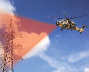 Helikopterler engelleri lazerle görecek