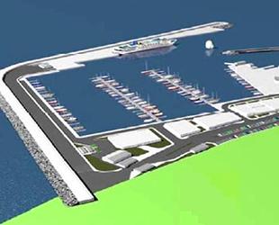 Güzelçamlı Yat Limanı 1 yılda bitecek