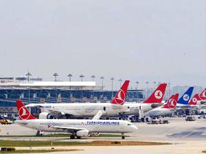 İstanbul'da hava trafiği arttı