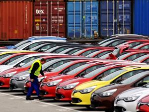 AB'de otomobil satışları Mart'ta yüzde 3,6 düştü