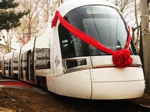Tel Aviv'in tramvayları hazır