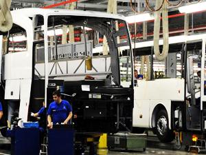 Otobüs ve minibüs ihracatına Romanya etkisi