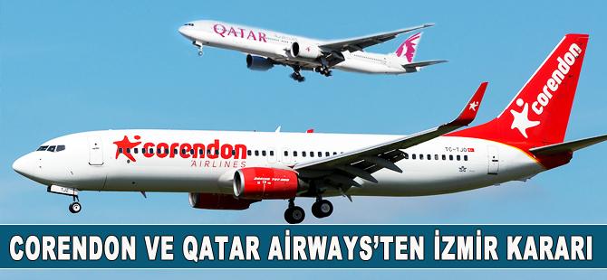 Qatar Airways ve Corendon'dan İzmir kararı