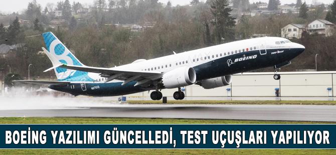 Boeing, 737 MAX'leri sertifika öncesi test uçuşunu çıkarıyor