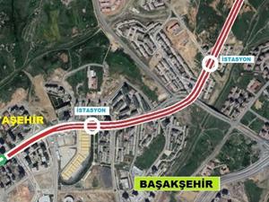 Başakşehir-Kayaşehir Metro hattı 4 km uzayacak