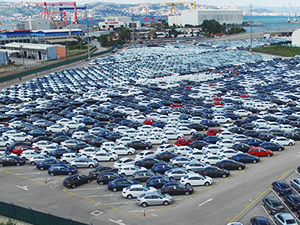 AB'ye otomotiv ihracatı yüzde 13 azaldı