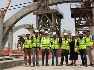 Ortadoğu'nun önde gelen projesinde Türk çalışan sayısı 5 bine çıkacak