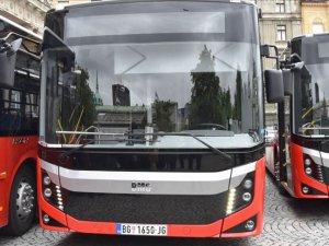 Türk otobüsleri Belgrad'da seferlere başladı