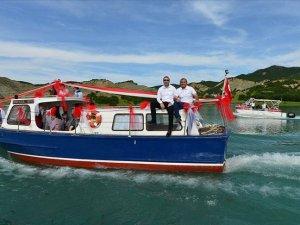 Denizlerin 'Goncagül'ü Tunceli'de turizme hizmet edecek