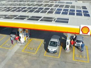Shell&Turcas ilk güneş enerjili istasyonunu açtı