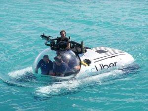 Uber'den Büyük Set Resifi'nde denizaltı taksi hizmeti: scUber