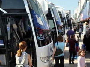 Bayram öncesi otobüs biletlerinin yüzde 90'ı tükendi