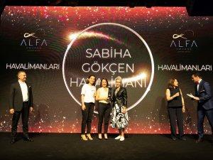 Sabiha Gökçen Havalimanı'na yolcularından ödül