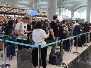 İstanbul Havalimanı'nda bayram yoğunluğu