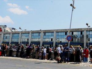 15 Temmuz Demokrasi Otogarı'nda yoğunluk